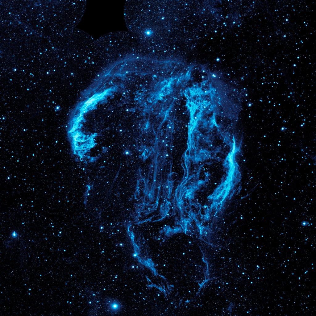Cygnus Loop - photo from NASA