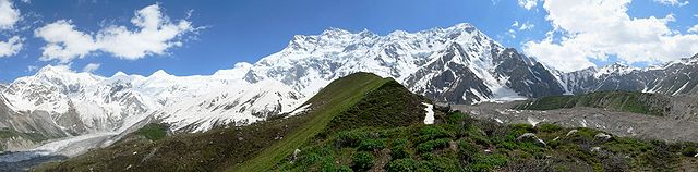 Nanga Parbat from Base Camp. Photo taken November 30, 2005.
