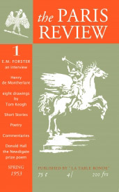 The First Issue of The Paris Review, Spring 1953.
