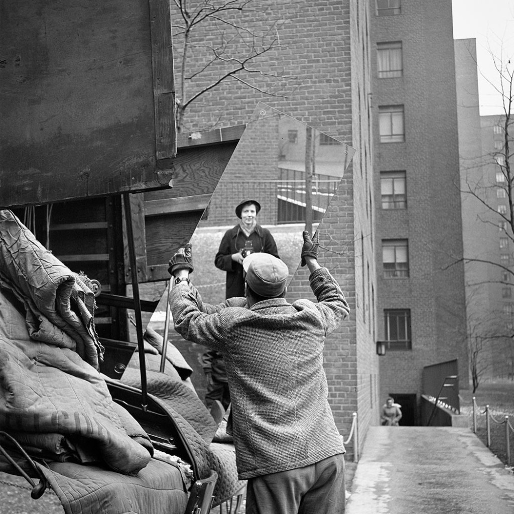Vivian Maier self-portrait, 1955 (Catalog VM1955W03420-05-MC)