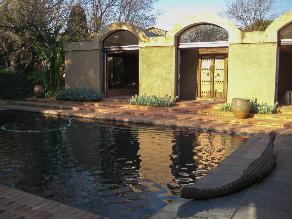 Artist's Open Air House in Rivonia