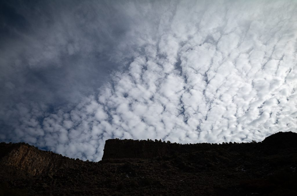Cliffs & Clouds - East Rim of the Rio Grande Gorge