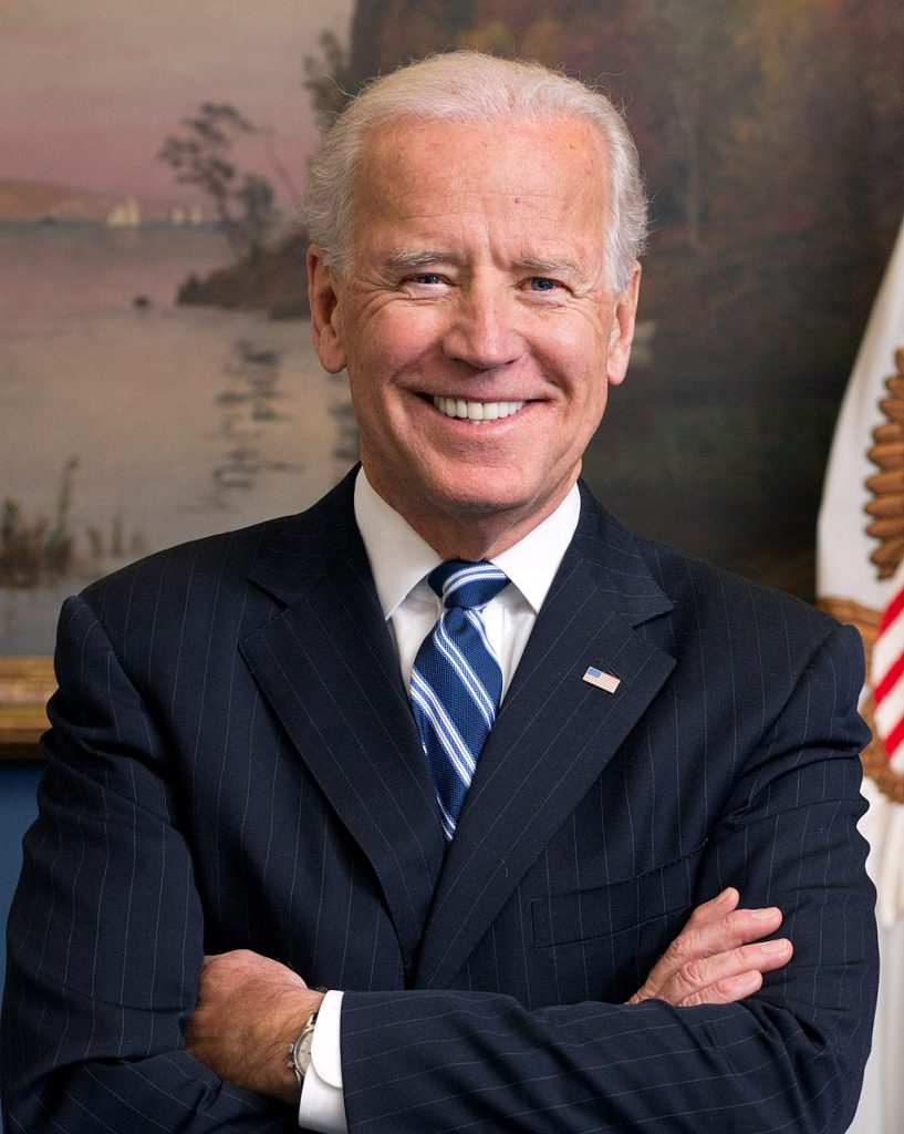 Official portrait of President Joe Biden in his West Wing Office at the White House, Jan. 10, 2013 when he was Vice President. (Official White House Photo by David Lienemann).