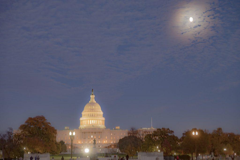 Shaky U.S. Capitol Building